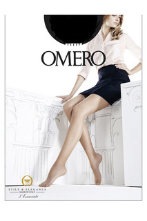 Колготки черные 15 den Omero