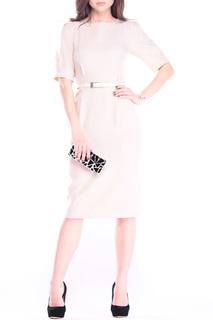 Стильное элегантное платье с поясом Laura Bettini