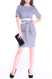 Классическое платье с поясом REBECCA TATTI