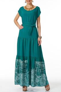Платье с японским поясом Argent