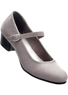 Туфли Мэри Джейн (темно-серый) Bonprix