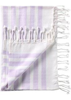 Банное полотенце Лейла (сиреневый) Bonprix