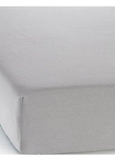 Простыня-чехол Линон (светло-серый) Bonprix