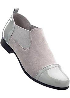 Закрытые туфли (серый) Bonprix