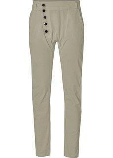 Хлопчатобумажные брюки-стретч (песочный) Bonprix
