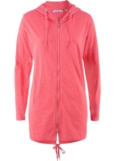 Трикотажная куртка-парка (нежный ярко-розовый) Bonprix
