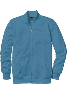 Трикотажная куртка стандартного покроя (синий) Bonprix
