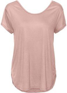 Футболка (винтажно-розовый) Bonprix