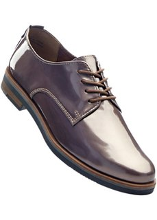 Туфли на шнуровке (бордовый) Bonprix