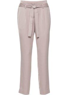 Сатиновые брюки (розовый матовый) Bonprix