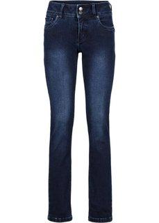 Формирующие джинсы-стретч SLIM, высокий рост (L) (темно-синий новый) Bonprix