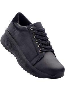Кроссовки на платформе (черный) Bonprix
