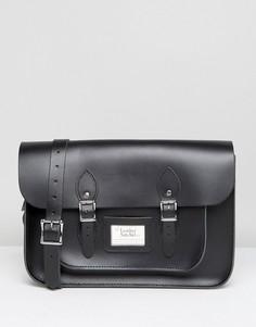 Черная сумка-сэтчел 14 Leather Satchel Company - Черный