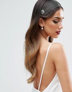 Украшение для волос с гребешками ASOS BRIDAL - Белый