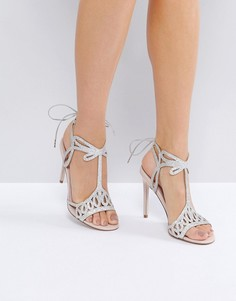 Босоножки на каблуке Faith Fizz - Розовый