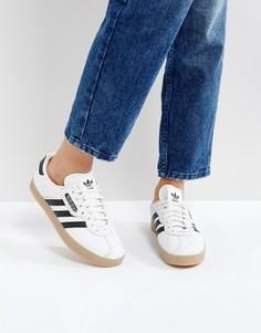 Белые кроссовки adidas Originals Gazelle Super - Белый