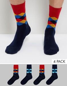 4 пары носков Jack & Jones - Черный