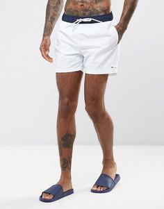 Белые шорты для плавания с логотипом-флажком Tommy Hilfiger - Белый