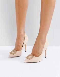 Туфли-лодочки с отделкой True Decadence - Розовый