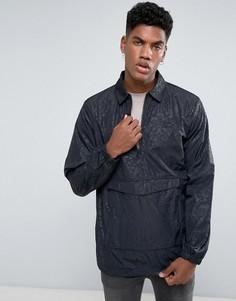 Спортивная куртка с короткой молнией adidas Originals CF5317 - Черный
