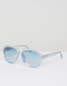 Солнцезащитные очки в прозрачной оправе Matthew Williamson - Прозрачный