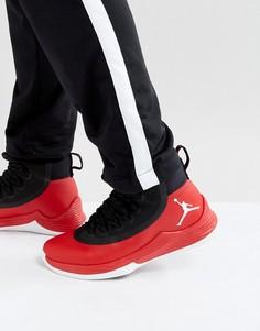 Черные кроссовки Nike Jordan Ultra Fly 2 897998-601 - Красный