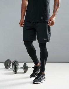 Черные шорты Nike Training Flex Vent 833370-010 - Черный