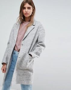 Пальто-кокон ASOS - Серый