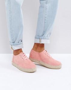 Эспадрильи на шнуровке Truffle - Розовый