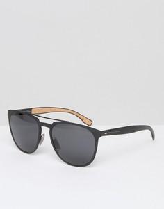 Квадратные солнцезащитные очки BOSS by Hugo Boss - Черный
