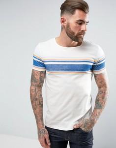 Полосатая футболка в стиле ретро Wrangler - Белый