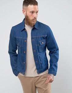 Темная куртка в стиле ретро Wrangler - Темно-синий
