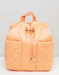Стеганый рюкзак ASOS LIFESTYLE - Оранжевый