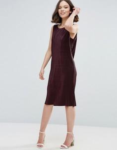 Цельнокройное платье Ichi - Красный
