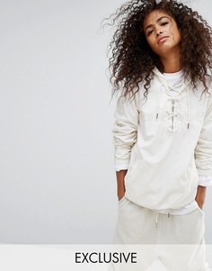 Свободная куртка Ellesse - Белый