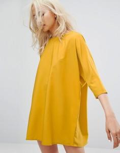 Свободное платье Noisy May - Желтый