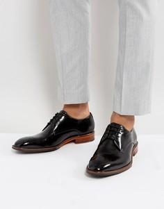 Черные блестящие туфли дерби Ted Baker Marar - Черный