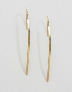 Серьги Made Bikhumbula - Золотой