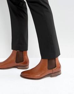 Кожаные ботинки челси Walk London Harrington - Рыжий