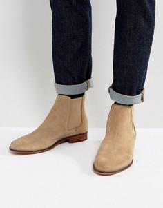 Замшевые ботинки челси Walk London - Светло-серый