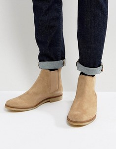 Замшевые ботинки челси Walk London Hornchurch - Светло-серый