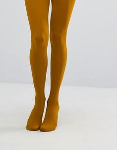 Непрозрачные колготки плотностью 100 ден Gipsy - Желтый