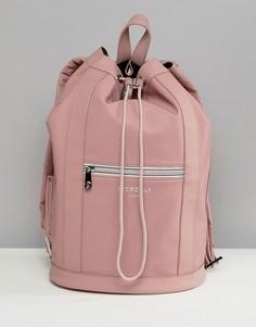 Розовый рюкзак с затягивающимся шнурком Fiorelli Sport - Розовый