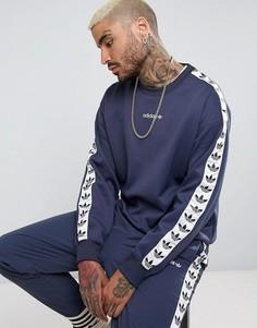Синий свитшот с круглым вырезом adidas Originals Adicolor TNT BR6744 - Синий
