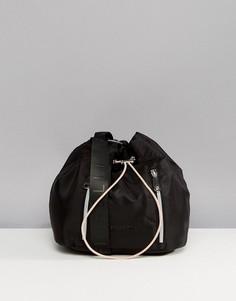 Черная сумка дафл со шнурком Fiorelli Sport - Черный