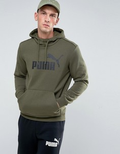 Зеленый пуловер Puma ESS No.1 83825749 - Зеленый