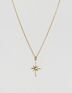 Ожерелье с подвеской-звездой Ottoman Hands - Золотой