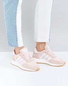 Бледно-розовые кроссовки adidas Originals Iniki - Розовый