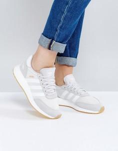 Бледно-серые кроссовки adidas Originals Iniki - Серый
