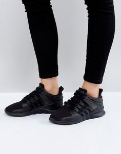 Черные кроссовки adidas Originals EQT Support Adv - Черный